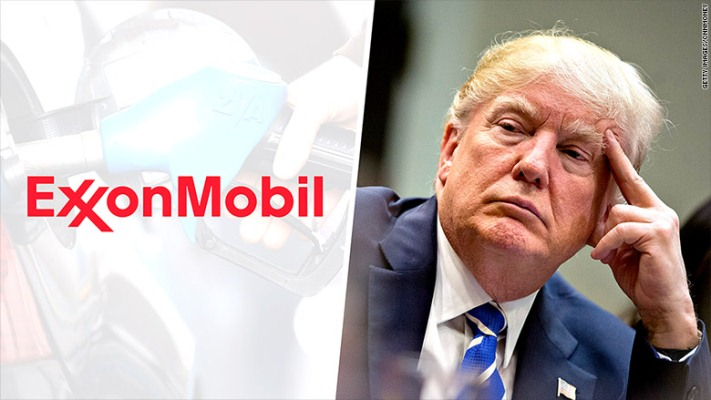 ExxonMobil envía carta a Trump exigiéndole que no abandone el acuerdo de París