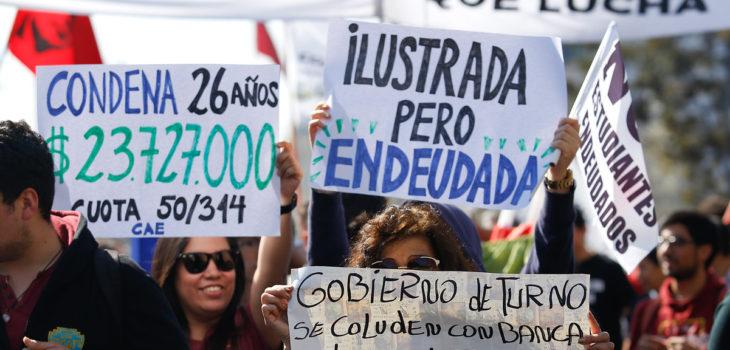 Movimiento No Pago: «Financiar el negocio de los bancos es contrario al derecho a la educación»