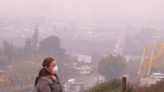 Cuatro ciudades con emergencia ambiental por la contaminación atmosférica