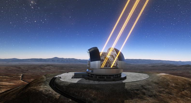 El telescopio más grande del mundo se construye en Chile