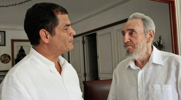 Ecuador: Correa visita Cuba para homenajear a Fidel Castro