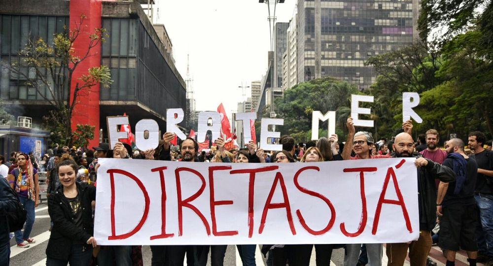 Brasil: avanza en el Congreso una enmienda constitucional para llamar a elecciones directas