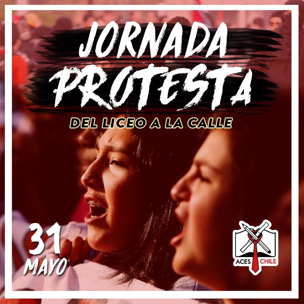 ACES convoca a jornada de protesta para este miércoles 31 de mayo