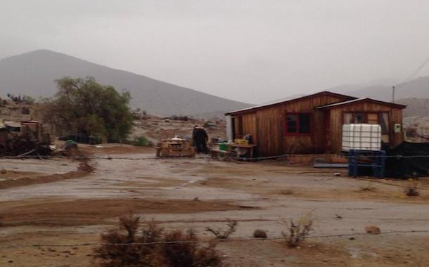 Lluvias en Monte Patria: trabajadores quedan encerrados en empresa minera
