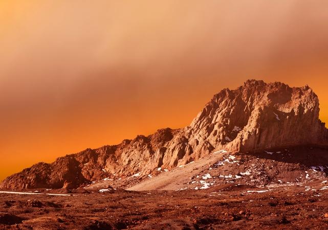 El suelo marciano se puede comprimir en ladrillos más fuertes que el hormigón armado