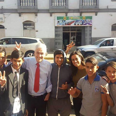 Piñera desde Chañaral: «No vengo a aprovechar nada»