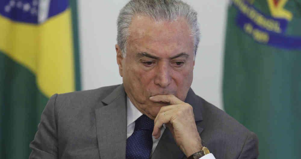 Brasil: comienza juicio clave que podría terminar con la presidencia de Michel Temer