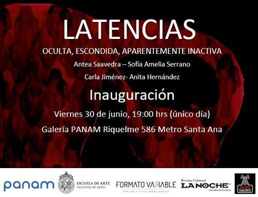 No te pierdas la muestra de la exposición LATENCIAS en la Galería Panam