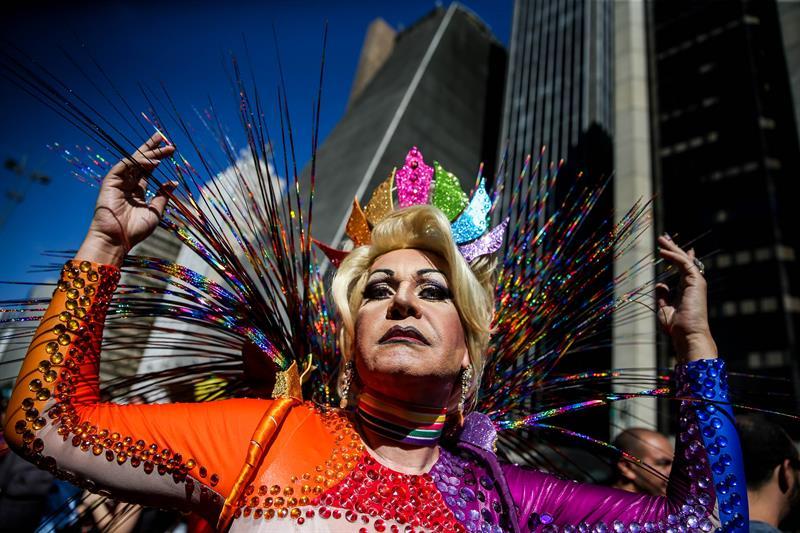 Marcha del orgullo gay en Brasil: 3 millones de personas contra la intolerancia religiosa