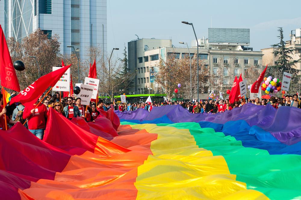 Santiago: Movilh convoca a «Marcha por el orgullo de ser tú mismo»