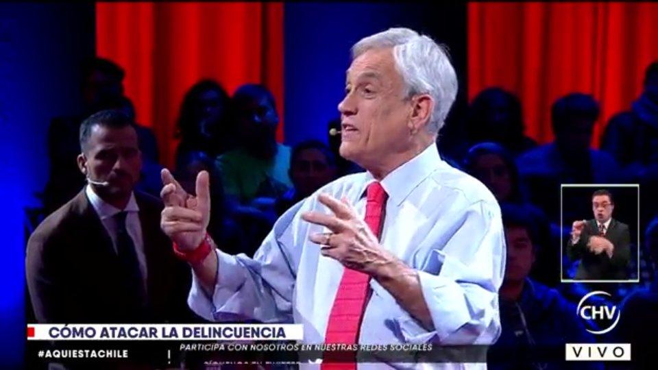 Piñera defiende con todo a sus ex ministros imputados: «No está probada su responsabilidad»