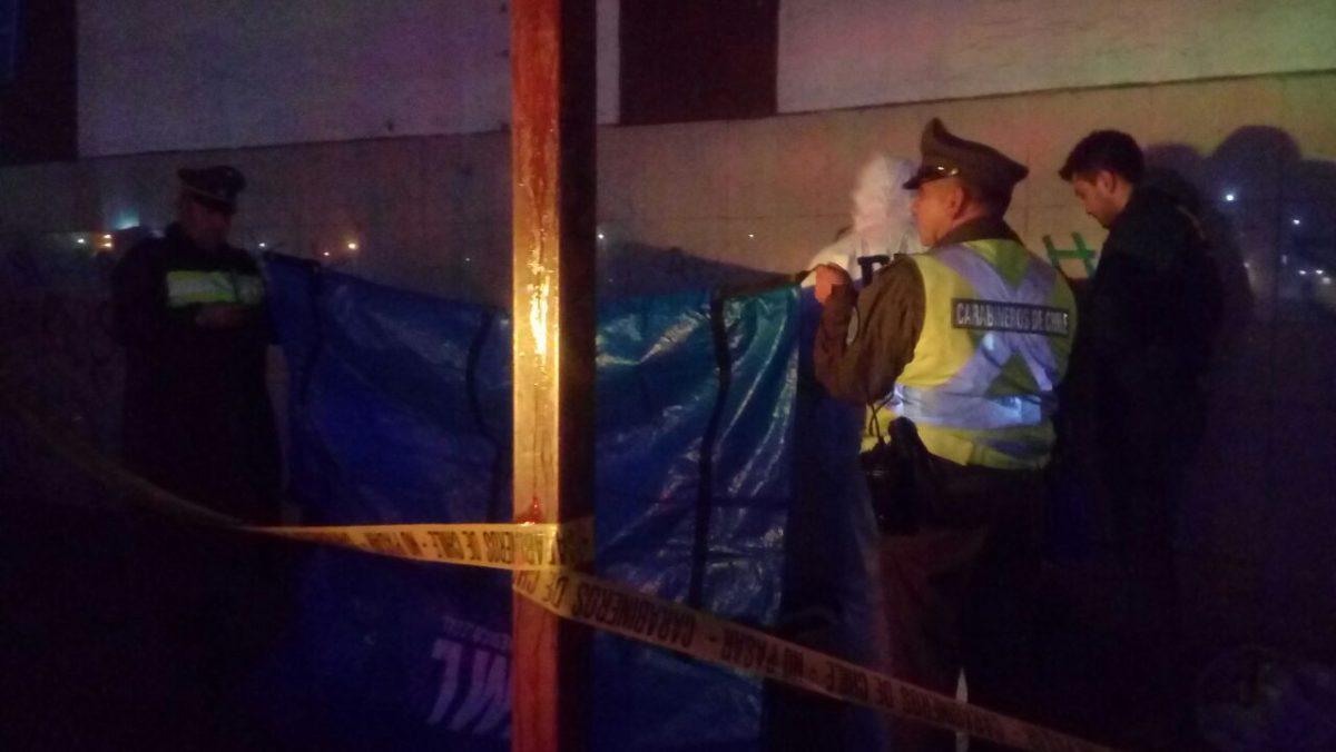Persona en situación de calle fue hallada muerta frente a terminal de buses de Puerto Montt