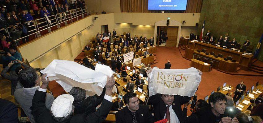 Senado despacha proyecto que crea nueva Región de Ñuble: Tendrá 3 provincias