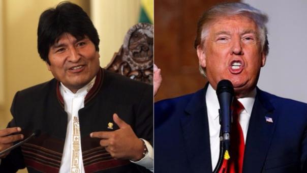 Evo Morales insta a Donald Trump a usar el presupuesto de guerra para mitigar el hambre