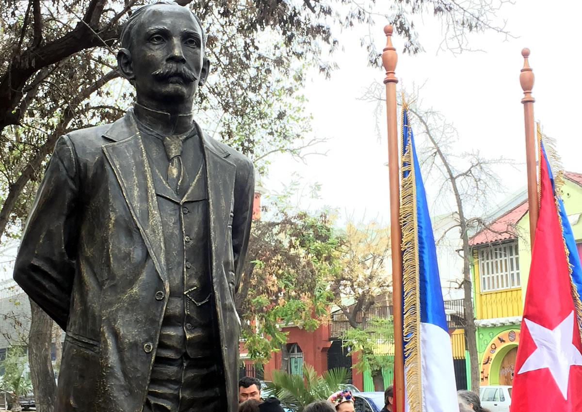 Santiago: Inauguran monumento a José Martí en el barrio Yungay
