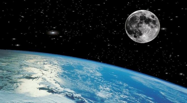 Descubren lo que parece ser grandes cantidades de agua en la Luna