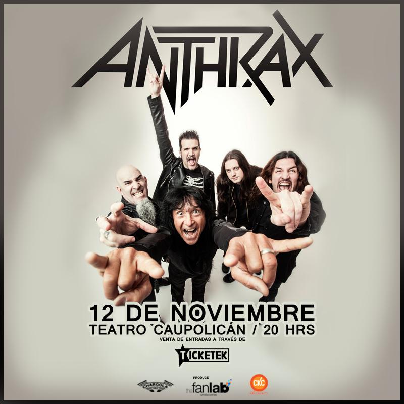 Anthrax en Chile