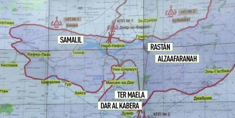 Ministerio de Defensa ruso: Acordada la tercera zona de desescalada en Siria