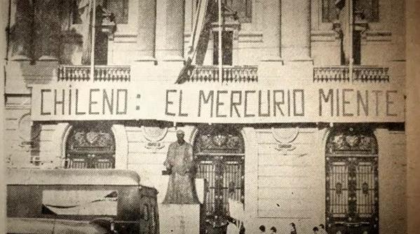 «El Mercurio miente» sigue vivo a 50 años de su irrupción: «Nunca ha hecho un mea culpa sobre el infame rol que jugó en dictadura»