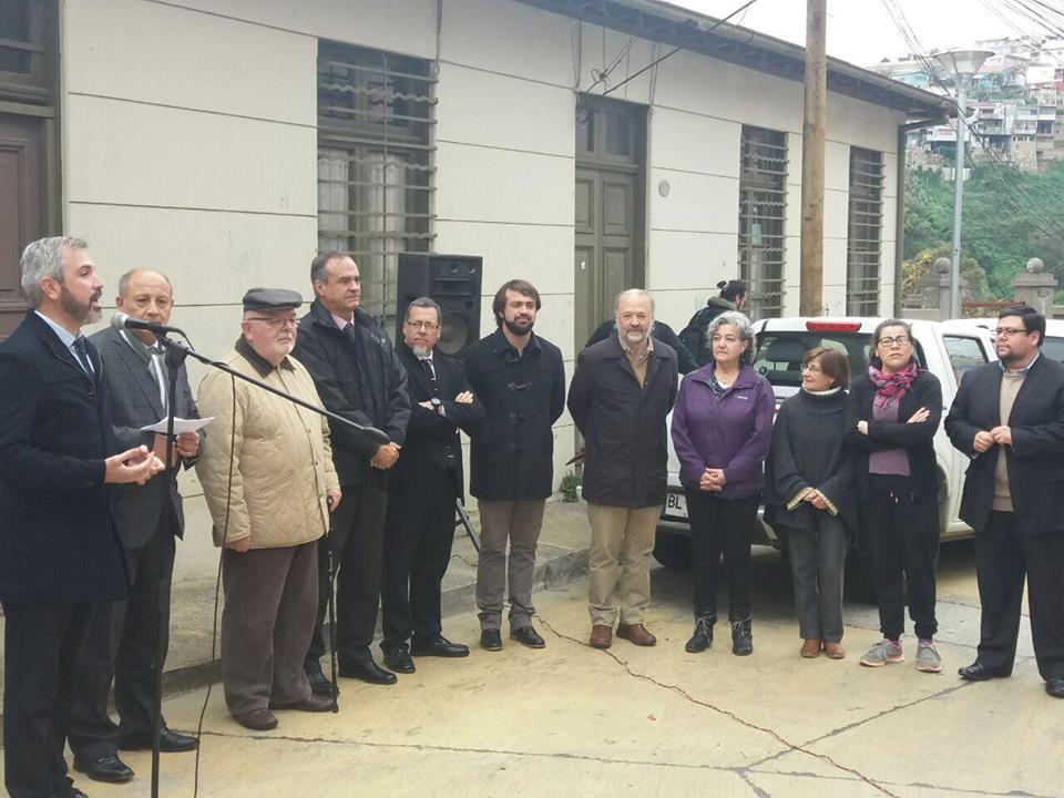 Valparaíso: Dan el vamos al inicio de la restauración del histórico ascensor Monjas