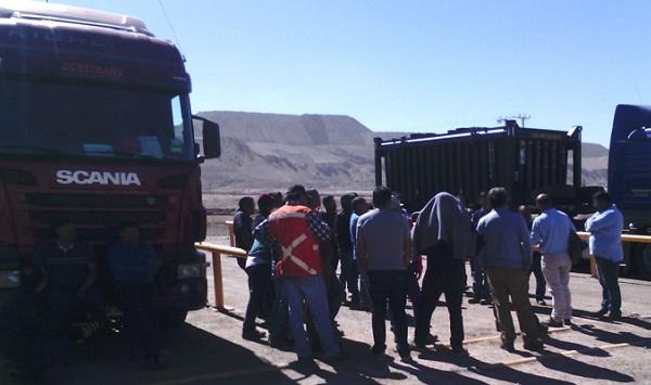 Sindicato Interempresa del Loa está en huelga exigiendo condiciones dignas de trabajo