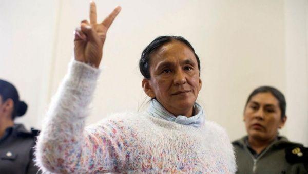 Juez fija prisión domiciliaria de Milagro Sala en una vivienda completamente destruida