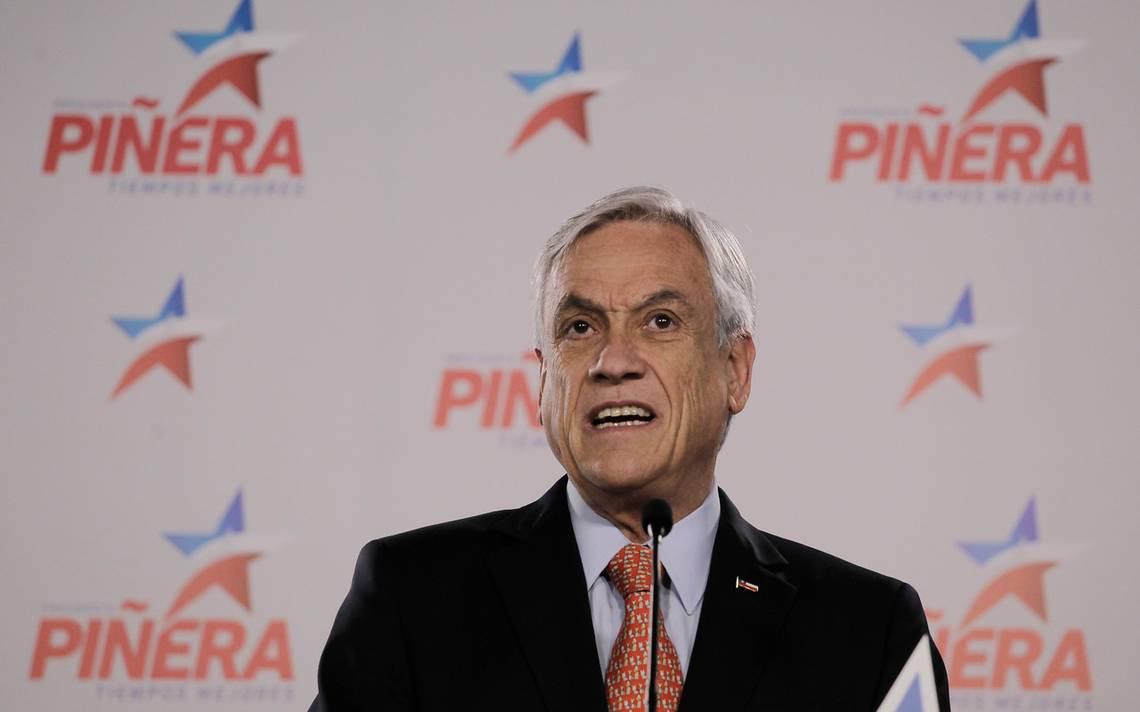 Piñera quiere que debates presidenciales sean solo con Sánchez y Guillier