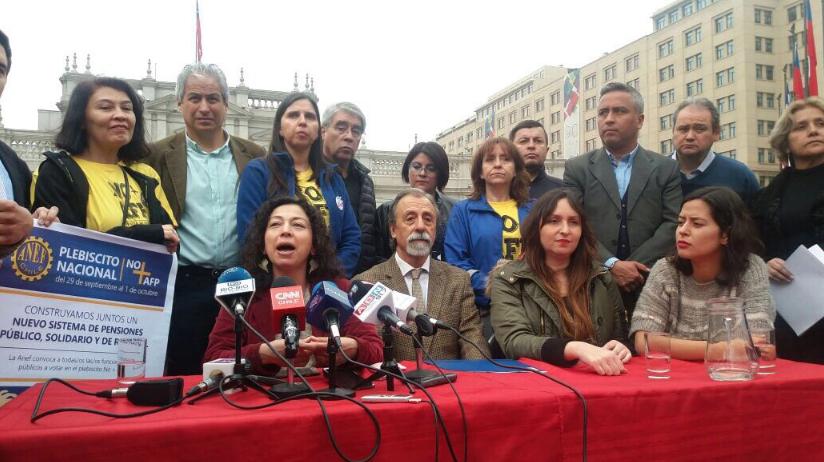 No+AFP lanza plebiscito: «Pretende restituir la soberanía. Que sea el pueblo el soberano»