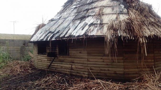 Denuncian ataque incendiario a centro de salud mapuche en Villa Alemana