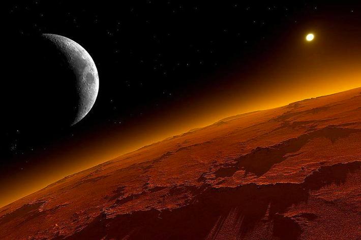 Estudio determina la ubicación de agua líquida en el planeta Marte