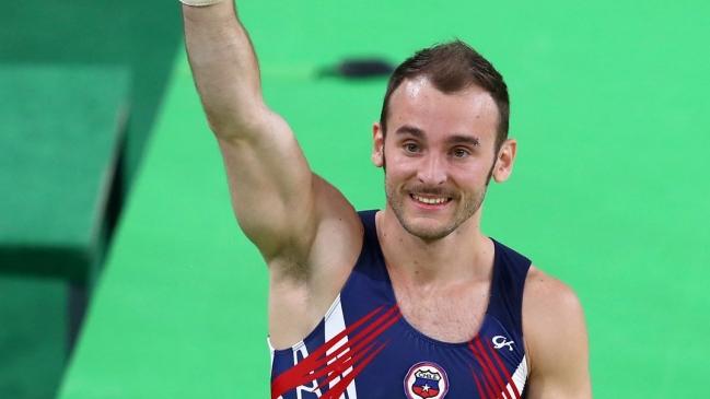 Tomás González clasificó a la final de suelo en el mundial de París