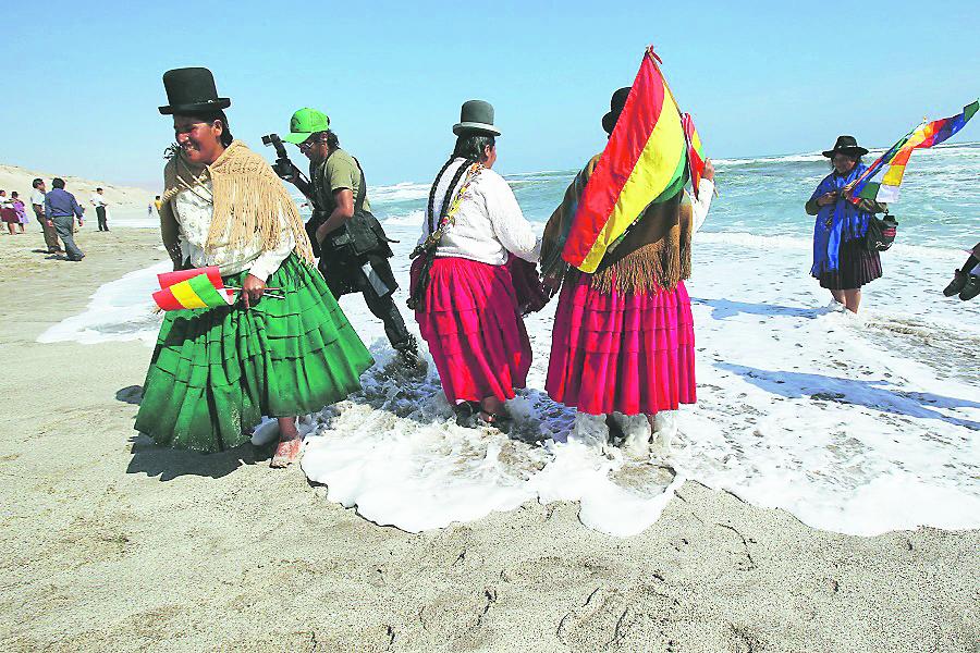 ¿Por qué mar para Bolivia?