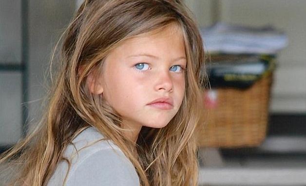 Modelo De 6 Años Considerada La Más Hermosa Del Mundo