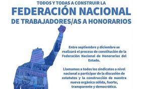Unión de Honorarios del Estado inicia proceso para ser una Federación Nacional