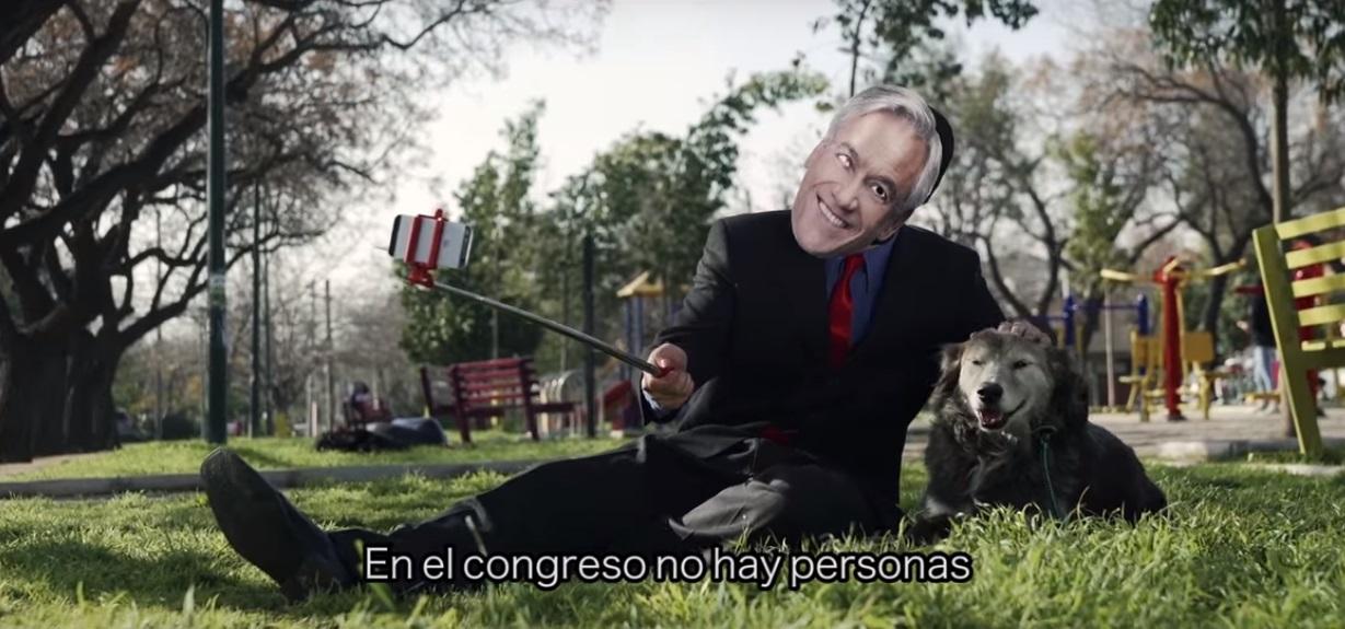Candidato del Frente Amplio lanza video de campaña riéndose de Piñera y Dávalos