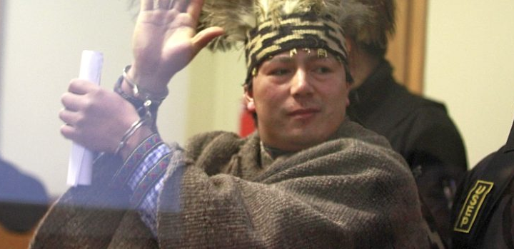 Machi Celestino Córdova anuncia huelga de hambre si no le permiten salir de la cárcel para realizar rito sagrado