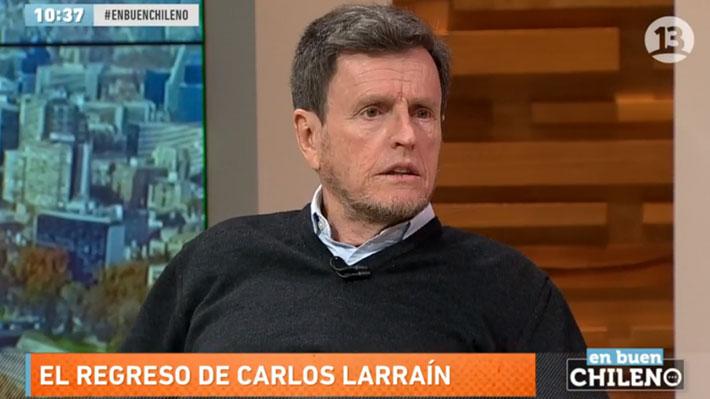 """Carlos Larraín y eventual triunfo de Sebastián Piñera: """"El problema es cómo va a gobernar"""""""