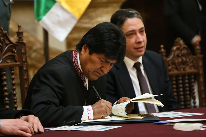 Bolivia: Evo Morales y Michel Temer llegan a un acuerdo por el tren bioceánico