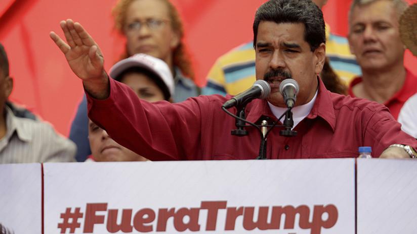 Según Nicolás Maduro, Estados Unidos está detrás del fraude electoral en Honduras