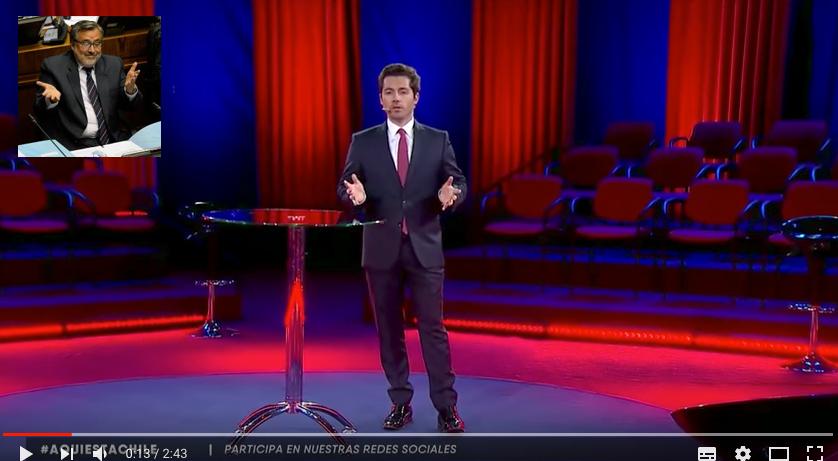 Alejandro Guillier se llenó de miedo, plantó a la ciudadanía y no asistió a programa Aquí Está Chile de CHV y CNN