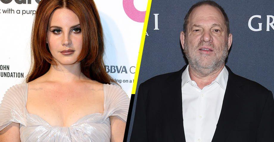 La escandalosa e insinuante  canción que Lana del Rey escribió sobre Harvey Weinstein y que lo hizo temblar