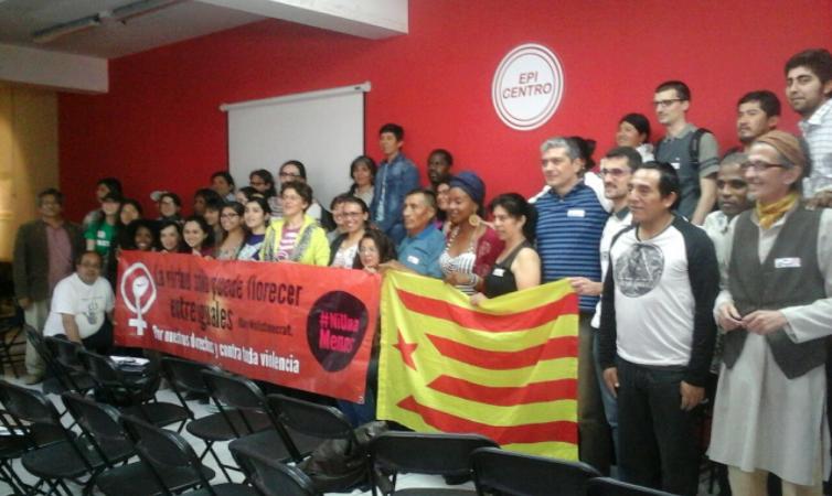 """""""Con voz propia"""": Inmigrantes realizan primer encuentro nacional con más de 50 organizaciones"""