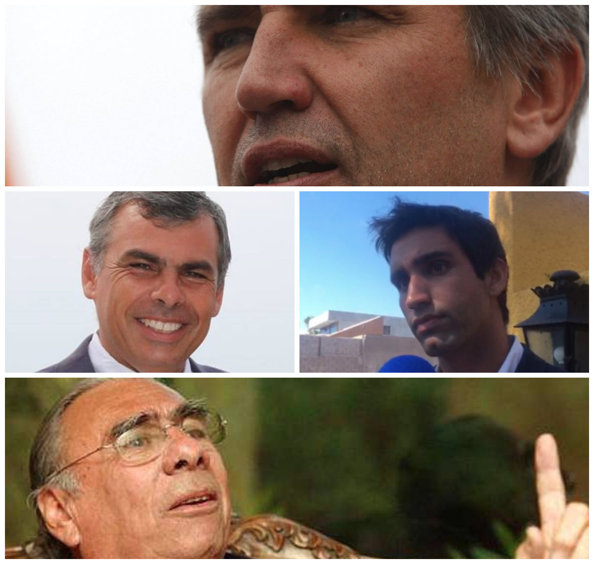 """Alcalde de Iquique (hijo de Jorge Soria) responde a acusaciones de Rossi: """"Son parte de una actitud de desesperación"""""""