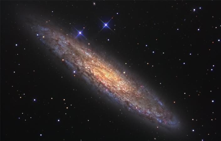 """Astrónomos observan un """"bosque"""" de moléculas orgánicas en otra galaxia"""