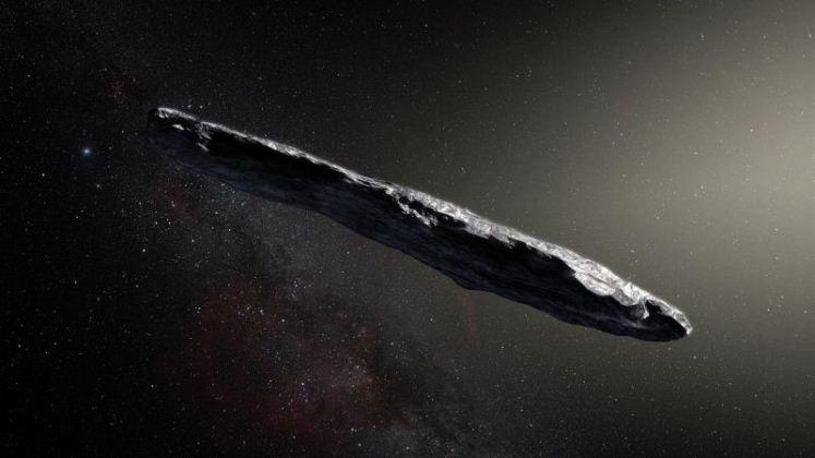 Astrónomos confirman que el objeto extraño que pasó frente al Sol venía de otro sistema solar