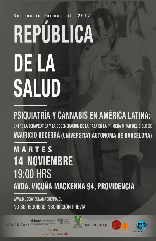 Invitan a charla sobre psiquiatría y cannabis en América Latina