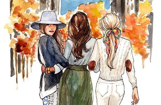 Para las hermanas no importa la distancia: las une el corazón