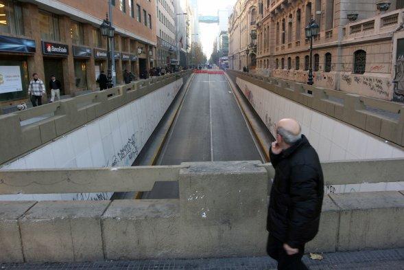 Histórica calle Bandera se transformará en paseo peatonal