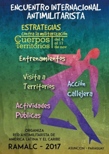 Encuentro Internacional 'Estrategias contra la militarización de los cuerpos y los territorios'
