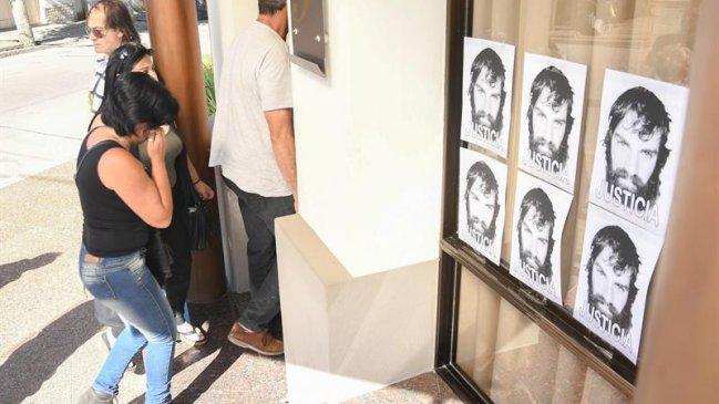 Familiares y amigos despiden a Santiago Maldonado en una ceremonia privada